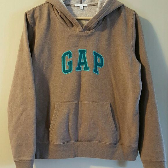 Gap Hooded Sweatshirt | Sweatshirts & hoodies, Turquoise and Hoodies