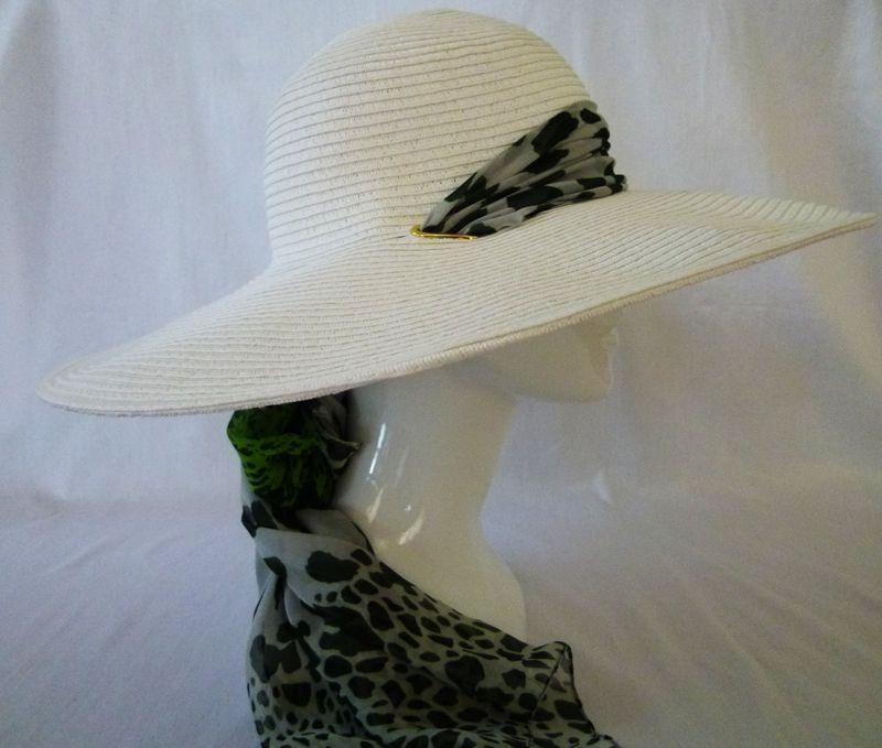 sun hat with scarf tie - Google Search  047ac57edd3