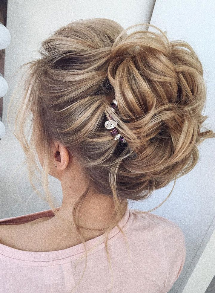 This gorgeous wedding hair updo hairstyle idea will inspire you ...