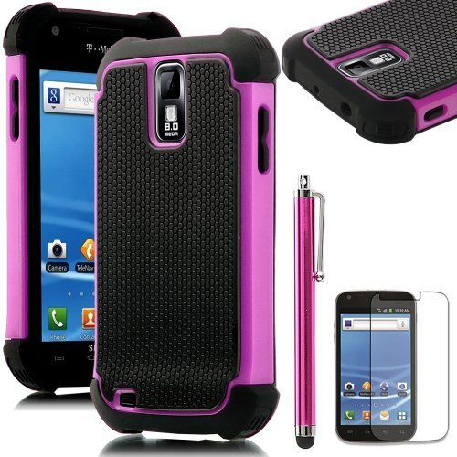 Pandamimi ULAK(TM) Hybrid Rugged Rubber Matte Hard Case for Samsung Galaxy S2 II T989 with free Screen Protect and Stylus (Rose Pink) by ULAK, http://www.amazon.com/dp/B00D8QGQ7Y/ref=cm_sw_r_pi_dp_su-Srb1HQSD1T