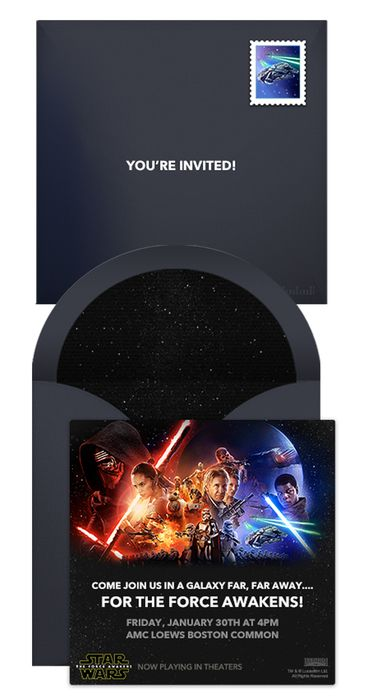 Star Wars Online Invitations In 2019 Star Wars Birthday