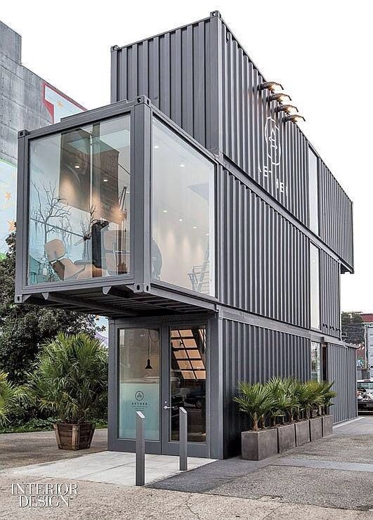 Leuke pop-up store | containers usos | Pinterest