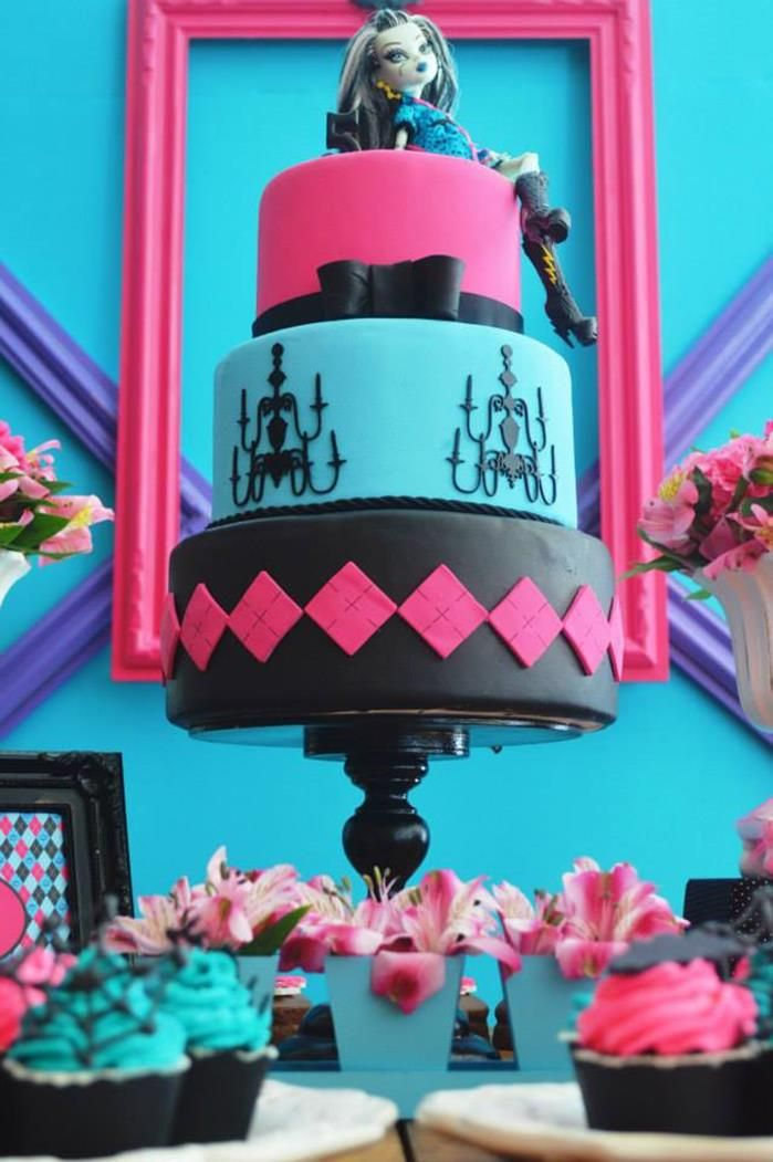 Monster High Party Planning Ideas Supplies Idea Cake Decorations & Monster High Party Planning Ideas Supplies Idea Cake Decorations ...