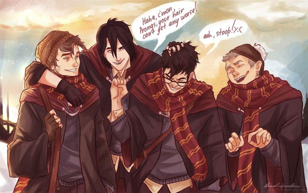 Illustrated Scenes From Harry Potter The Marauders Generation Harry Potter Stories Harry Potter Art Harry Potter Fan Art
