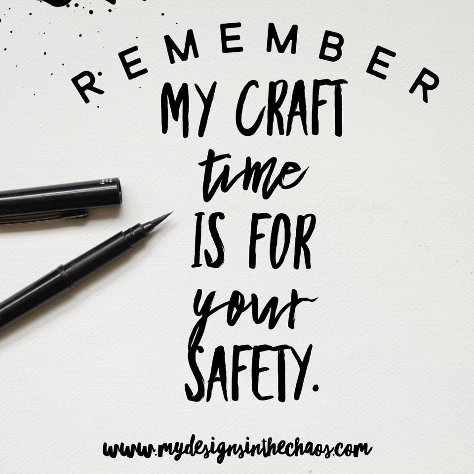Craft Memes Round 2 - My Designs In the Chaos