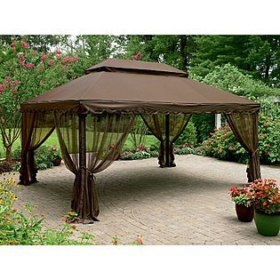 Grand Resort Replacement Canopy For 12 Ft X 16 Deluxe Gazebo
