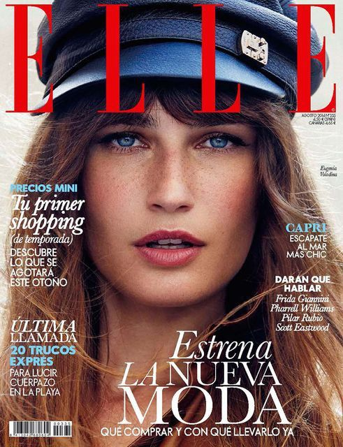 Eugenia Volodina - Elle Spain, August 2014