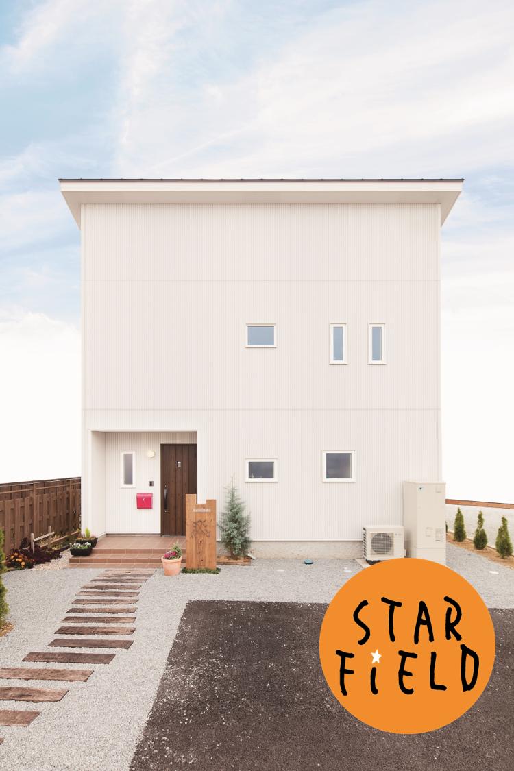 スターフィールド建築設計 新築 長野県 小諸市 外観 デザイン