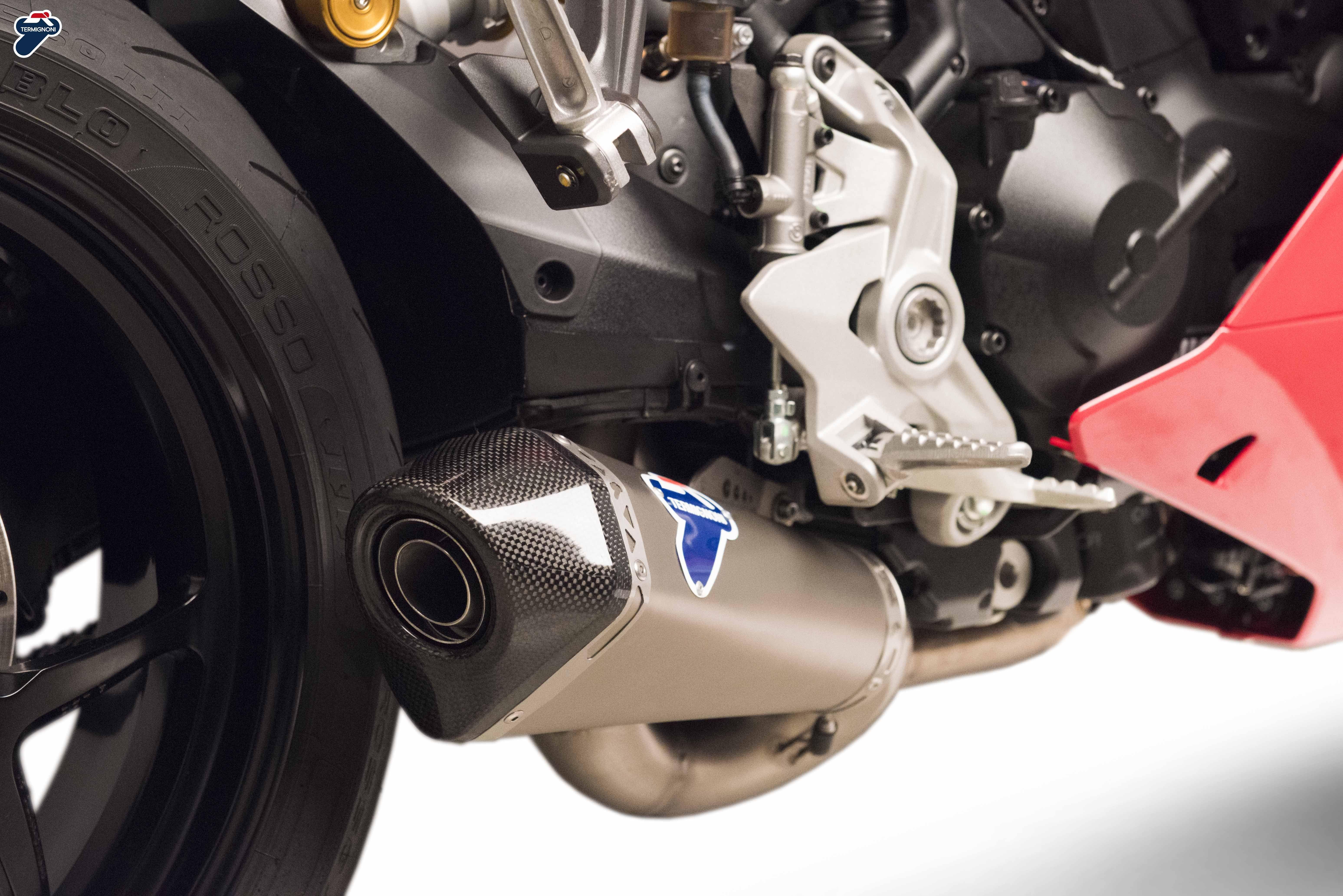 Termignoni D181 Racing Silencer With De Cat Ducati Supersport S Ducati Supersport Supersport Ducati