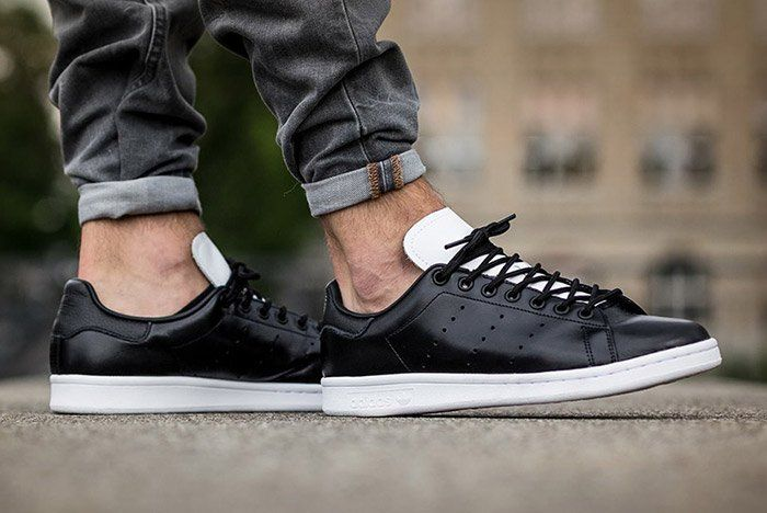 Black And White Come Together On This adidas Originals Stan ...
