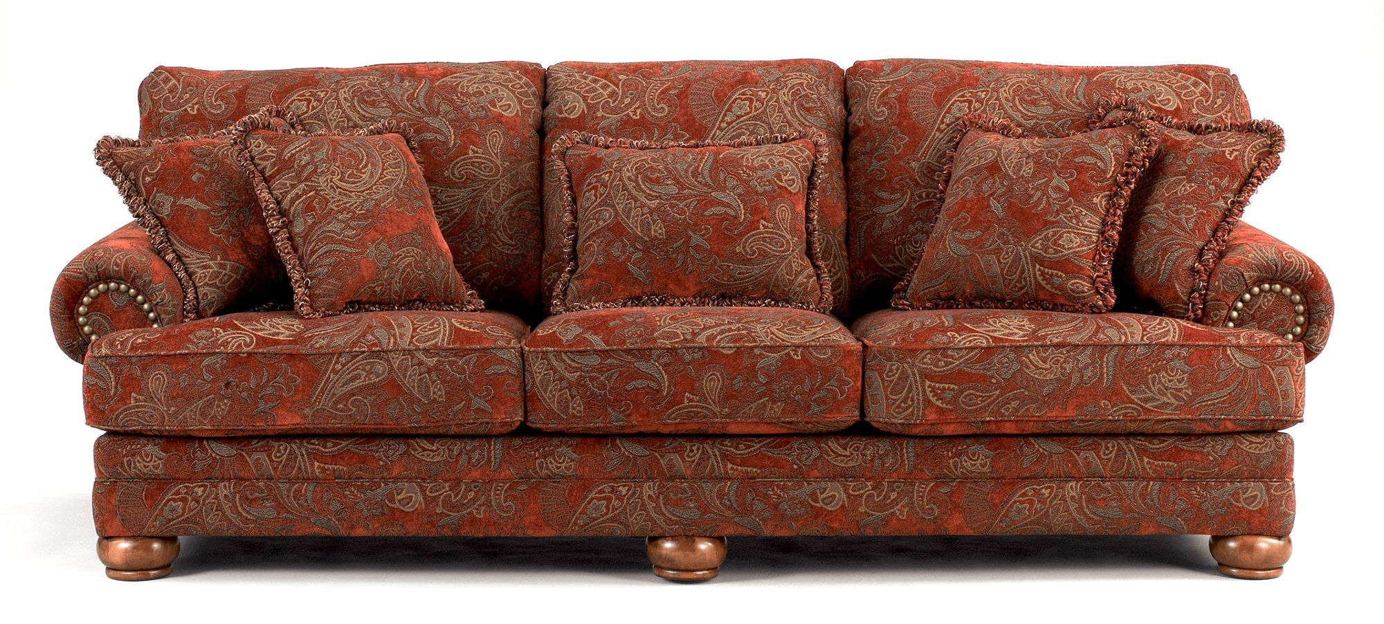 Buy Low Price Ivgstores Furniture Traditional Sofa W Sienna Paisley Upholstery Ash 99622 Paisley Upholstery Traditional Sofa Paisley Sofa Paisley couch living room furniture