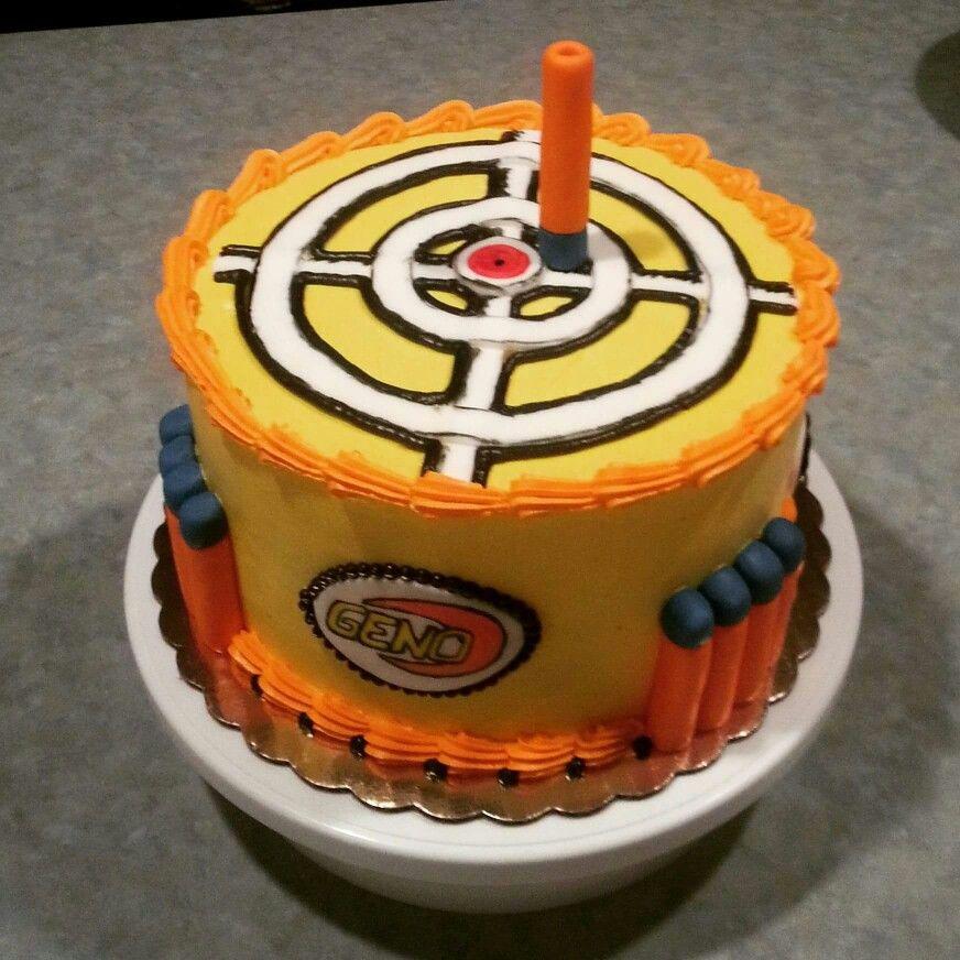 Pin On Nerf Cake Ideas