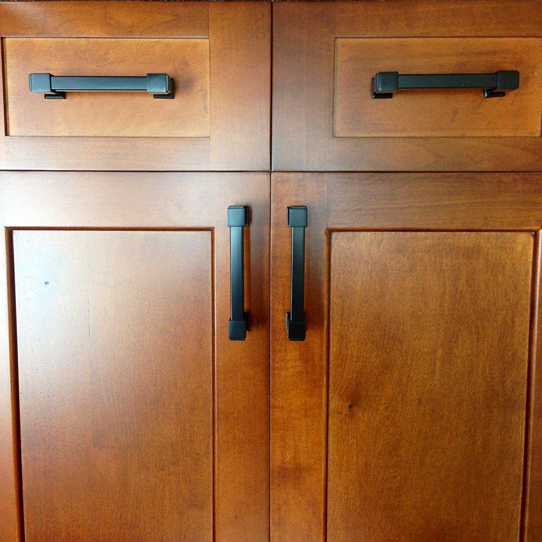 Southern Hills Black Cabinet Drawer Pulls Shkm010 Blk 5 4 Inch