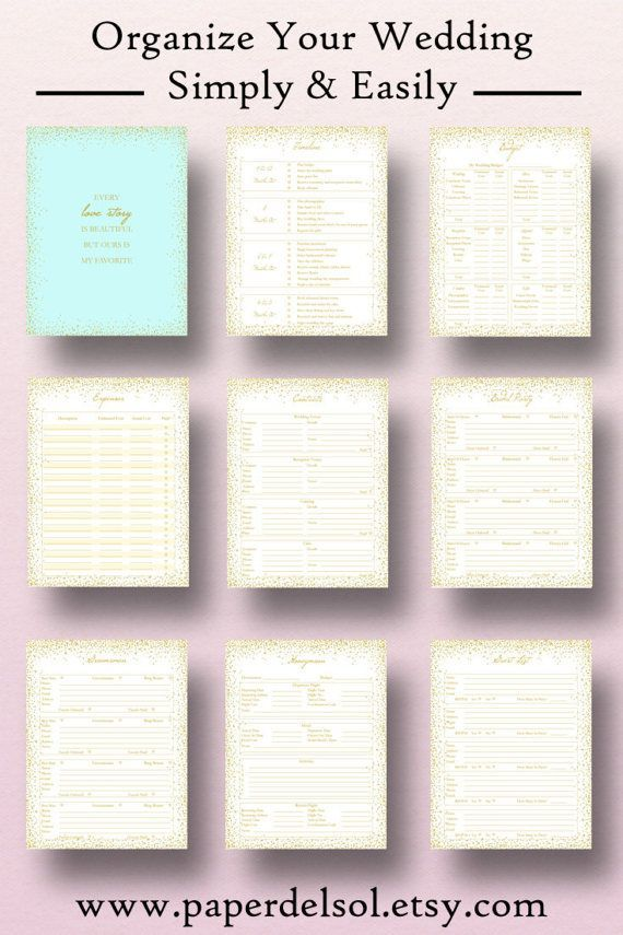 wedding planner printables wedding planning pages printable bridal