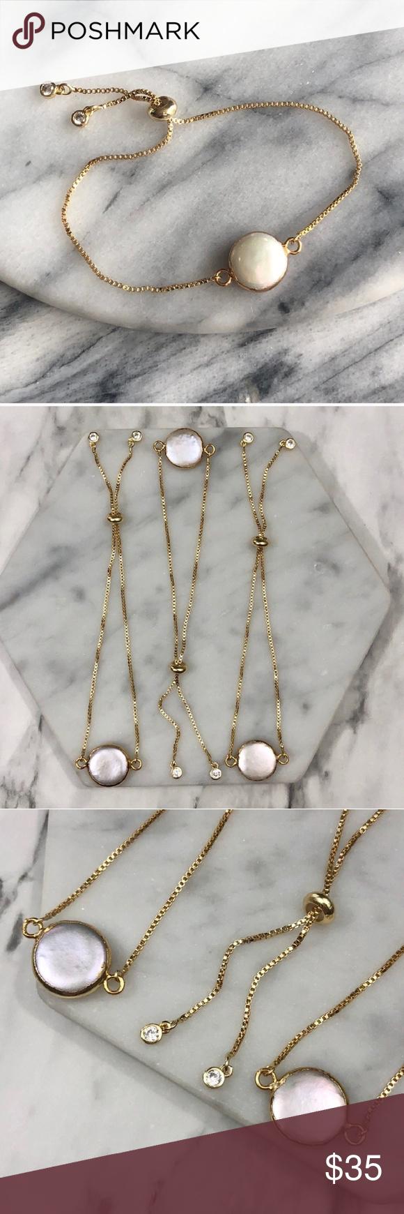 K gold pearl bracelet boutique my posh picks pinterest gold