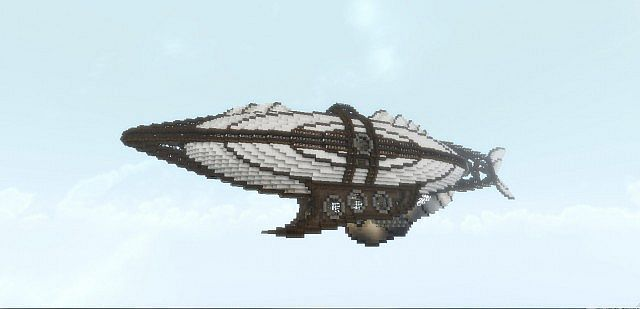 The Dawntreader - Steampunk Airship | Minecraft steampunk ...