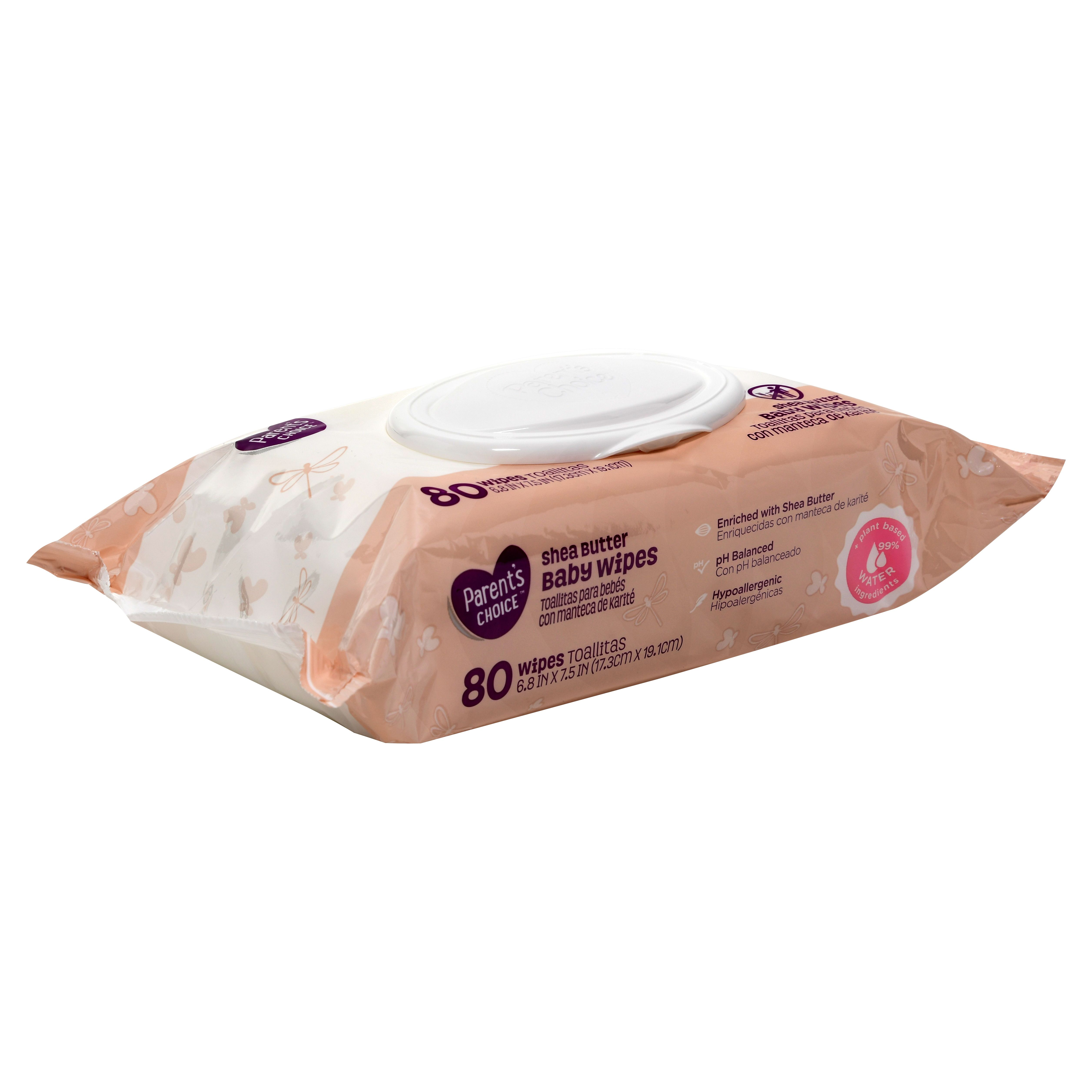 Parent/'s Choice Shea Butter Baby Wipes *Free 2 day ship