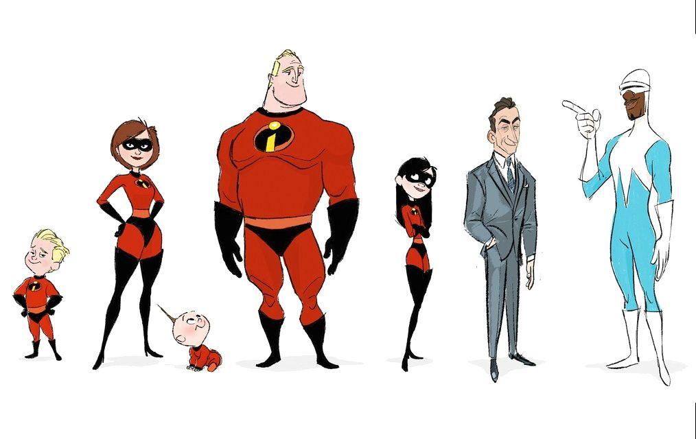 the incredibles 2 visual development art a c pixar animation studios blog