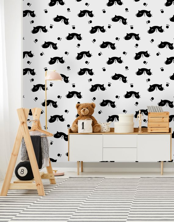Removable Wallpaper Peel And Stick Wallpaper Self Adhesive Etsy Peel And Stick Wallpaper Removable Wallpaper Self Adhesive Wallpaper