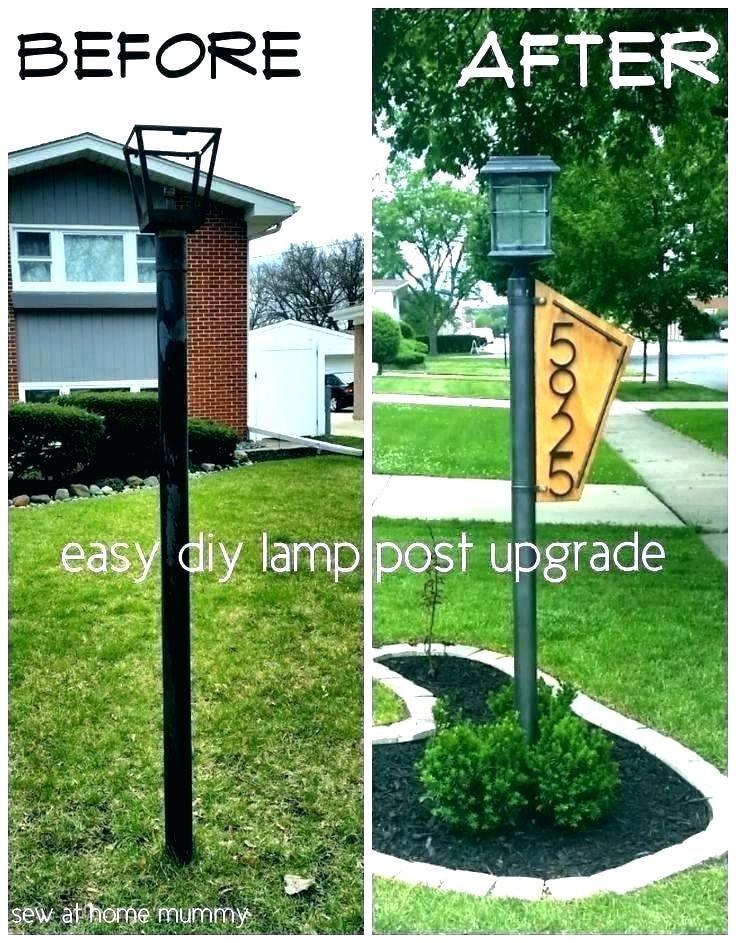 Solar Lamp Post, Lamp Post Hanging Address Sign