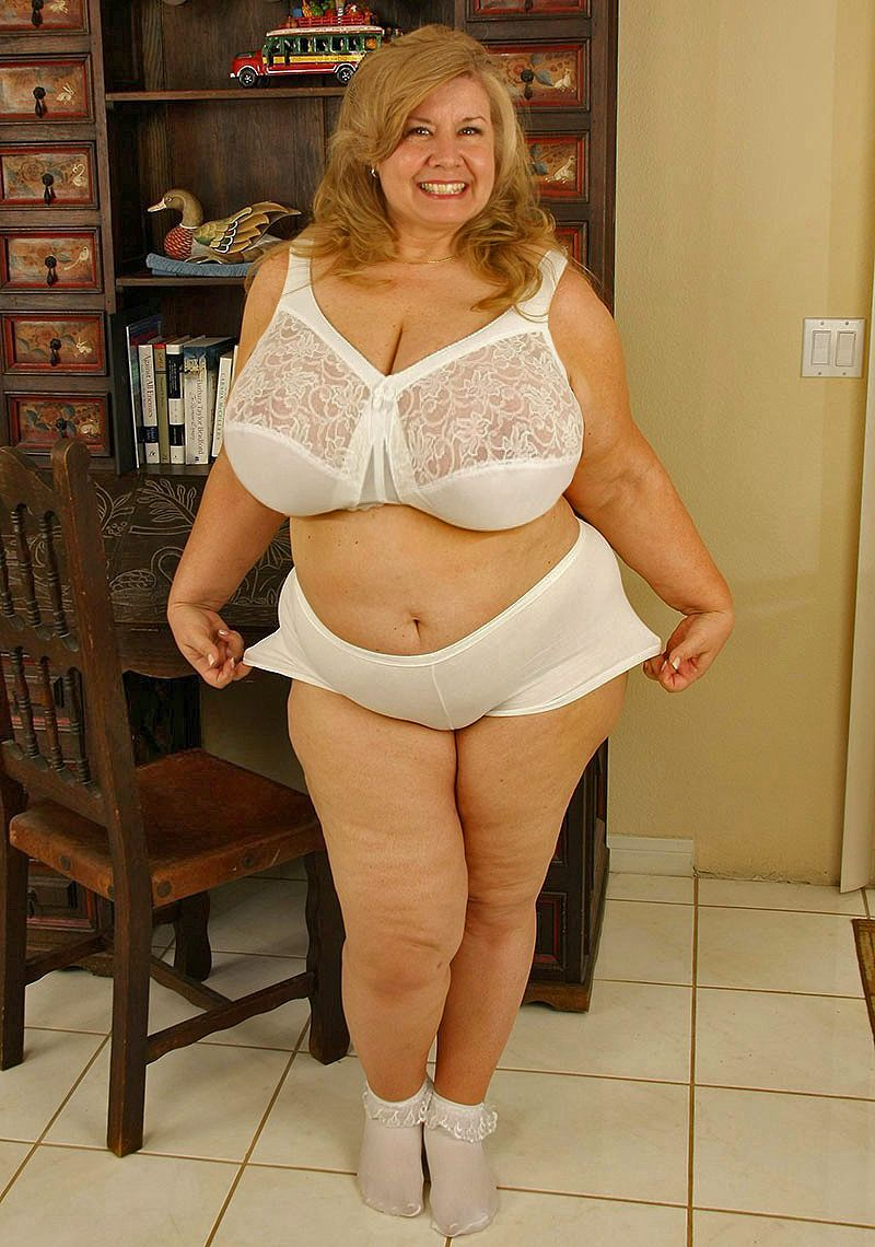bbw in panties Mature