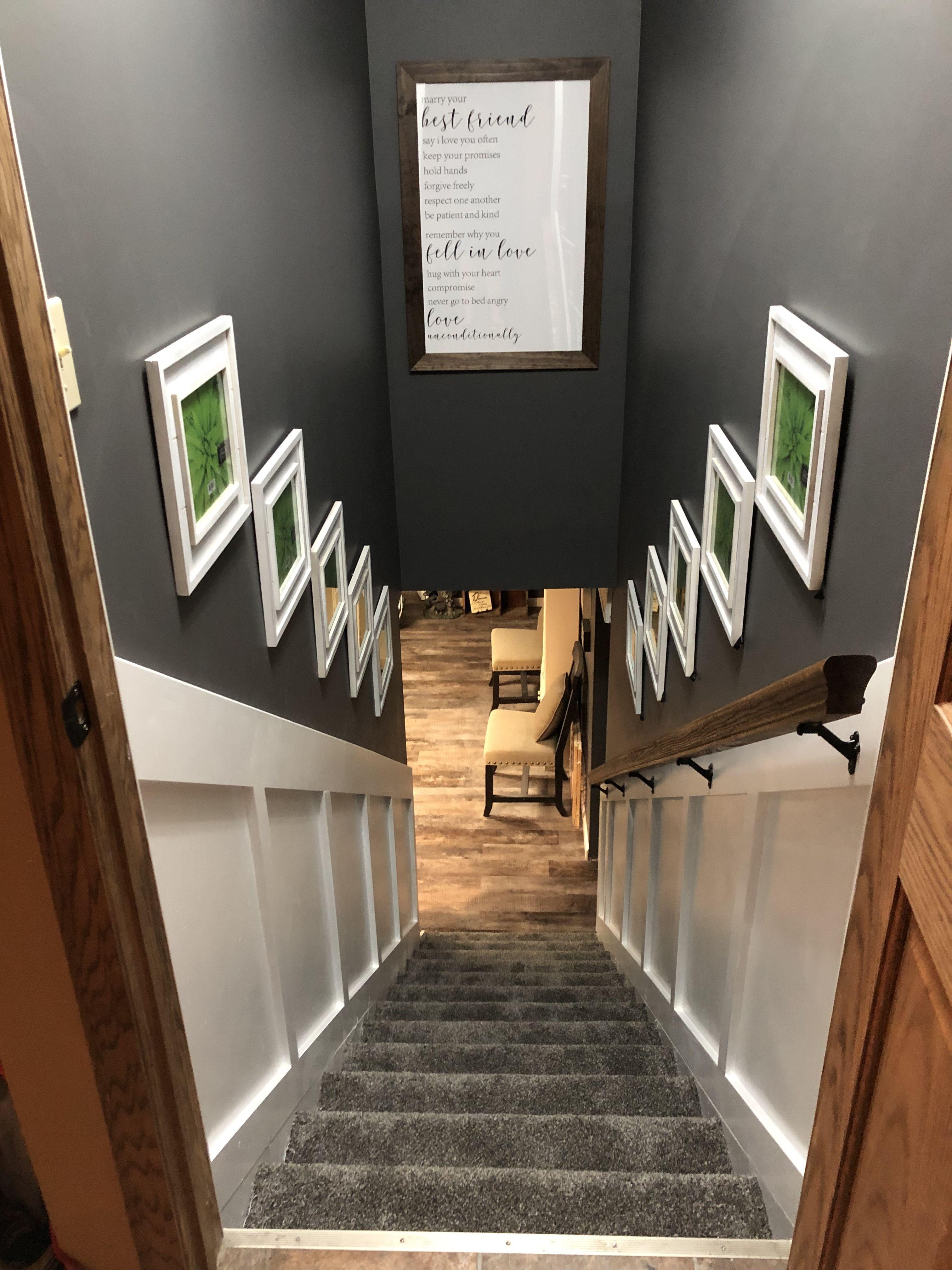 Best Basement Stairs Stair Remodel Basement Design Basement 400 x 300