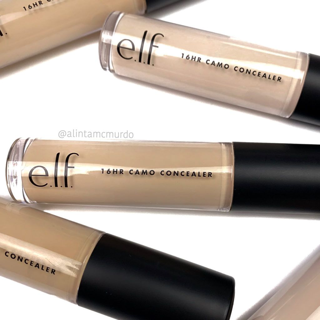 ELF Cosmetics 16HR Camo Concealer review and swatches