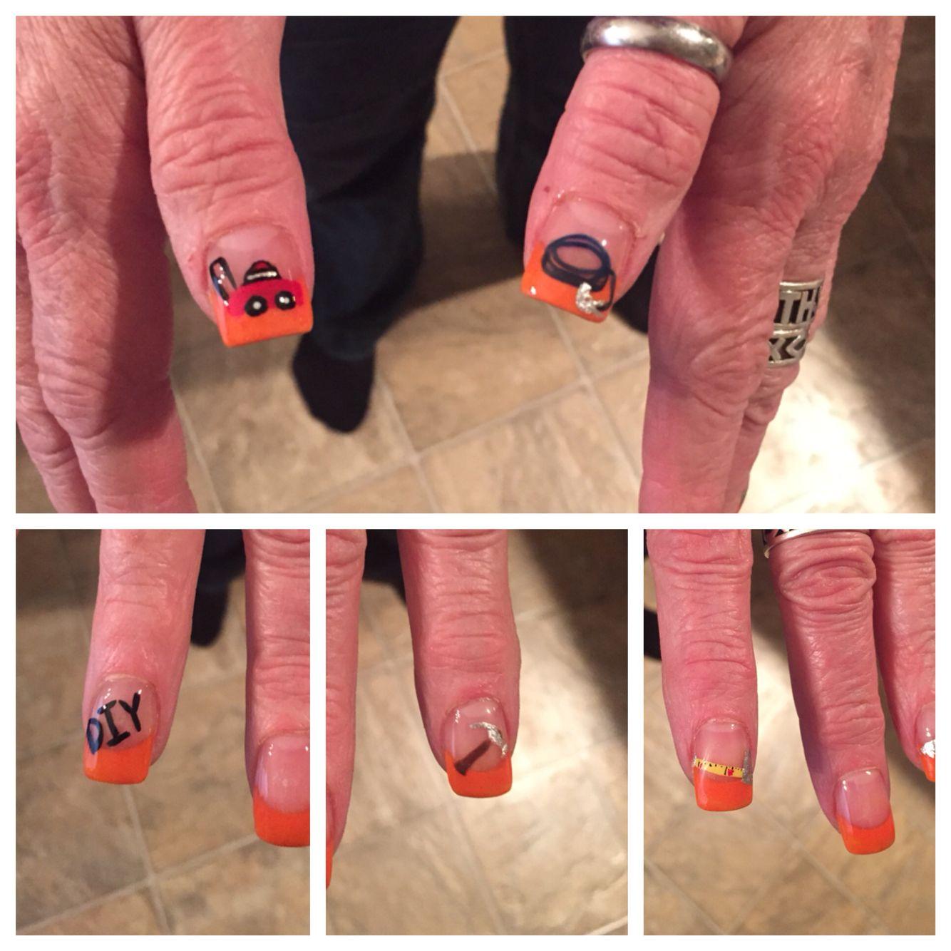 Home Depot Nail Art | Lisa\'s client\'s nails | Pinterest | Lisa s
