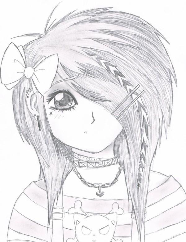 Dibujos De Anime Y Manga Para Colorear E Imprimir Colorear Imagenes Dibujos De Anime Dibujos Chica Gato Neko Anime