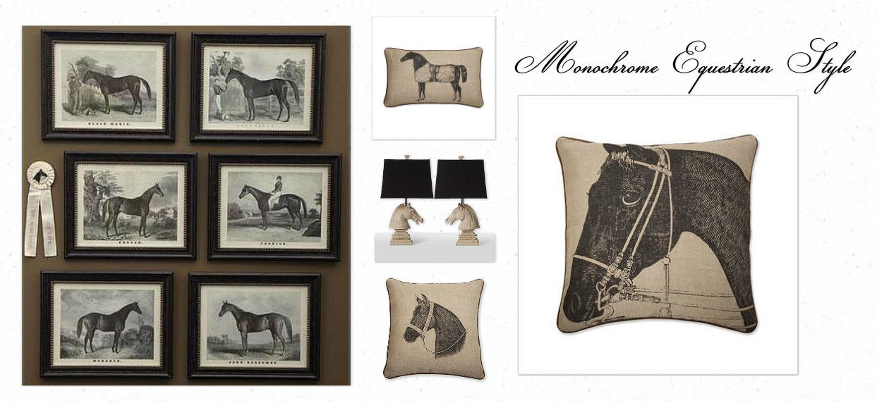 equestrian style decorating grand champion wall print is by home