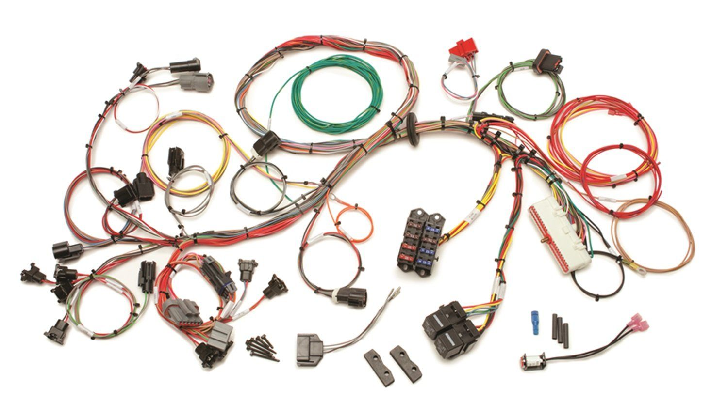 [SCHEMATICS_4US]  Painless 60510 5.0L Wiring Harness >>> Continue to the product at the image  link. (This is an affiliate link) | Fuel injection, Fuel, Injections | Ford Wiring Harness Parts |  | Pinterest