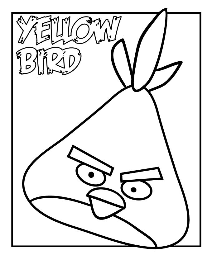 Angry birds coloring pages to go with angry verbs activity · free printable