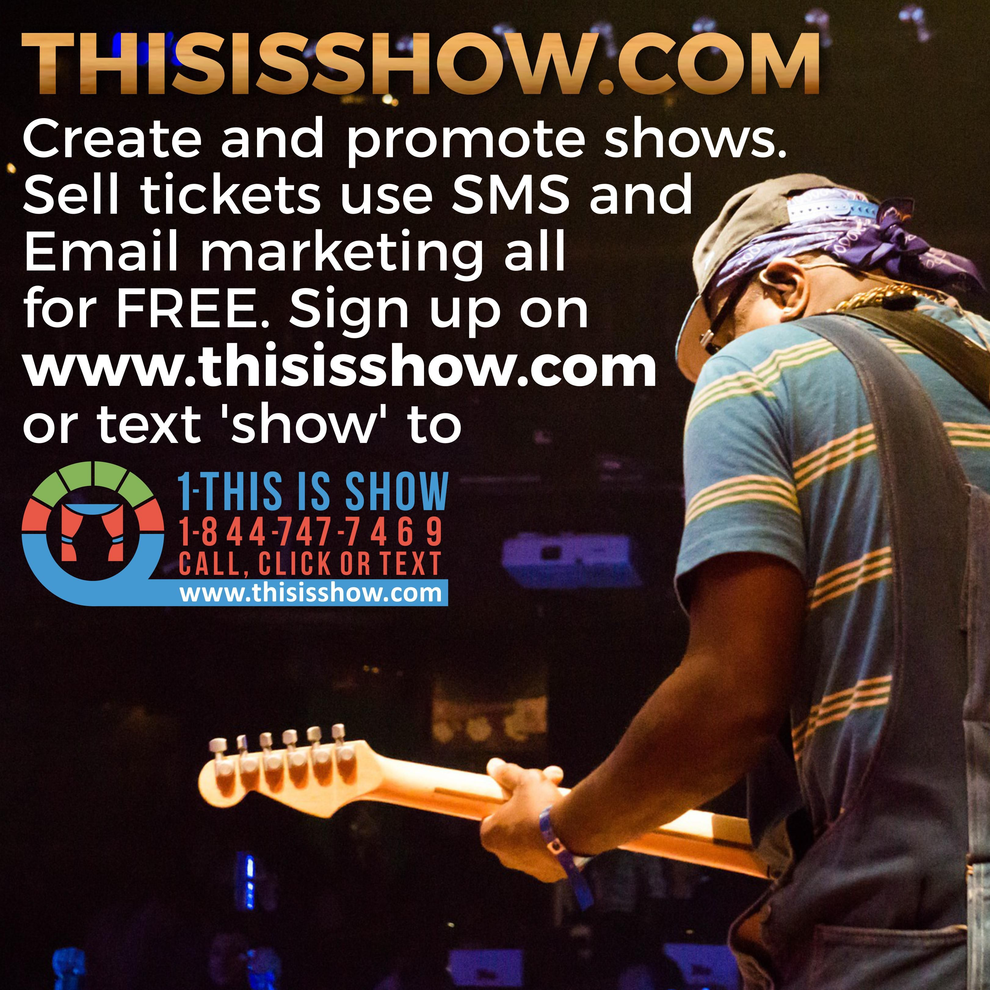 Register as Show organizer and post your show with all the