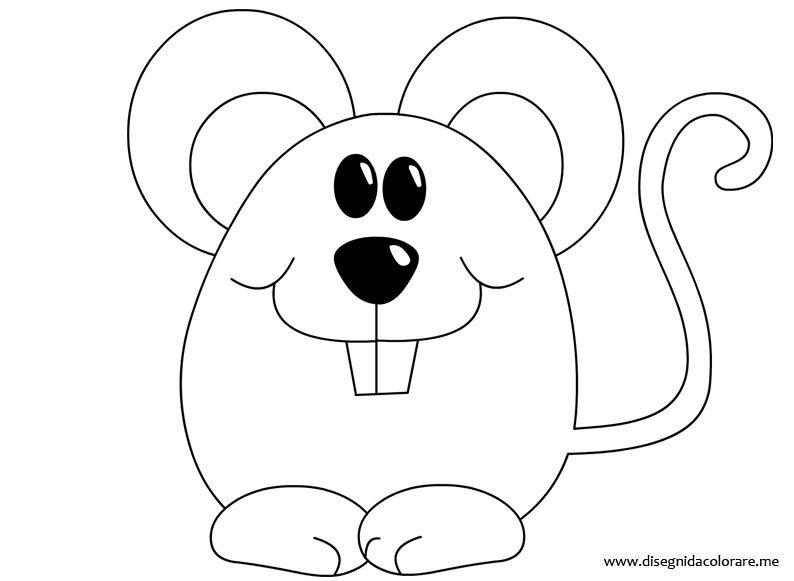 Topo Da Colorare Disegni Da Colorare Disegni Da Colorare Decorazioni Trapuntate Applique Per Bambino