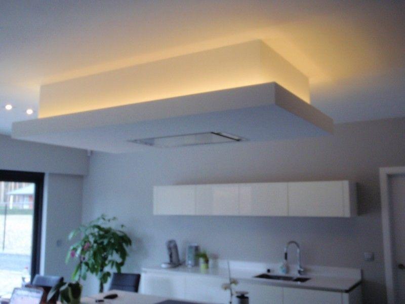 Detail verlaagd plafond cerca con google led lights - Faux plafond contemporain ...