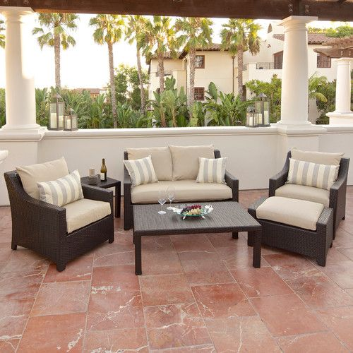 Found It At Wayfair   Northridge 6 Piece Deep Seating Group In Espresso  With Cushions. Patio Furniture ...