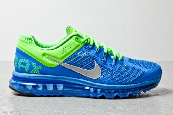 Nike Air Max+ 2013 Blue Green