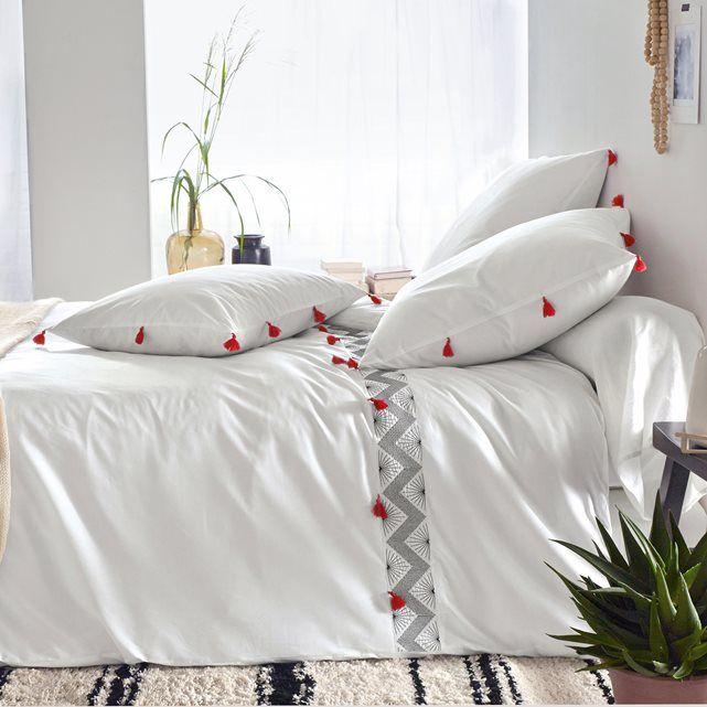 elegant housse de couette brode afaw housse de couettefond maisonla redoute litles with la. Black Bedroom Furniture Sets. Home Design Ideas
