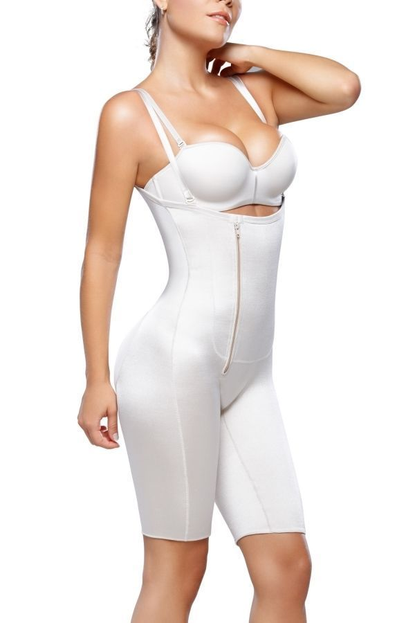 e2607dc818ad6 Diane   Geordi 002380 Braless Latex Body Shaper with Zipper