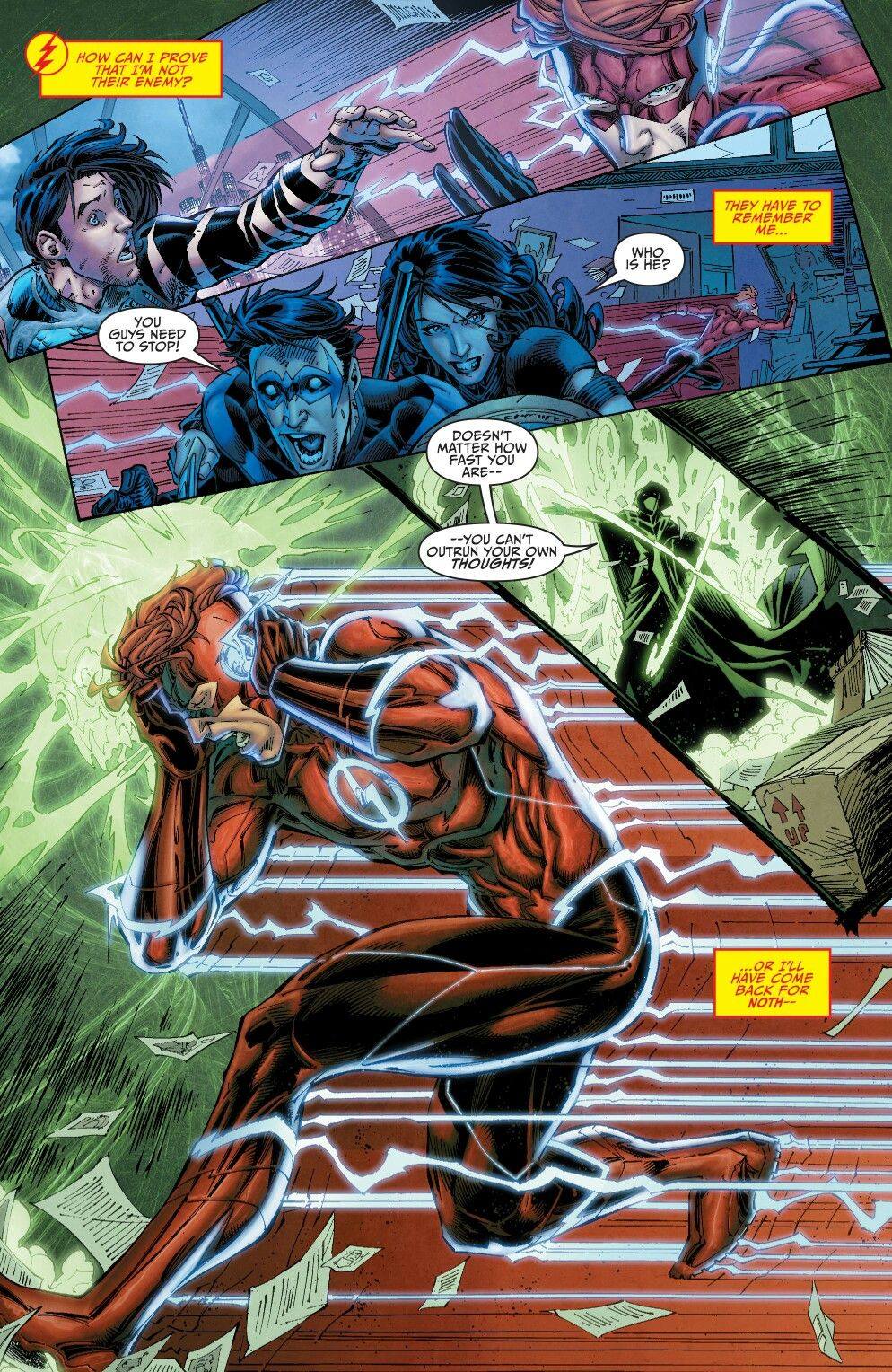 Teen Titans Rebirth  Teen Titans With Nightwing -5786