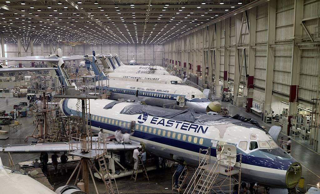 Douglas plant douglas aircraft general aviation