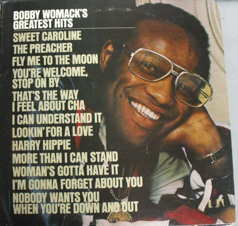 Bobby Womack S Greatest Hits Vintage Record Album Vinyl Lp Singer Songwriter Producer R B Soul Rock Gospel D Bobby Womack Greatest Hits Blues Music
