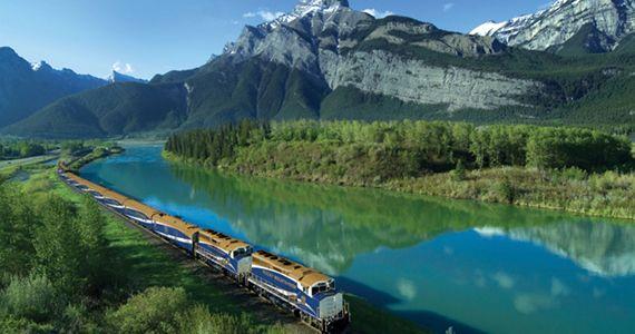 Rocky Mountaineer. Canadian Rockies by Train.