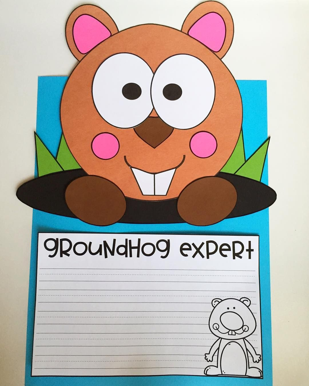 Celebrate Groundhog Day With My New Craftivity Pack