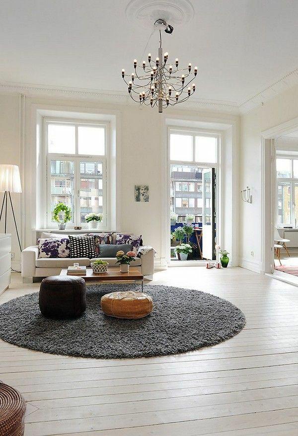 50 helle wohnzimmereinrichtung ideen lampen pinterest. Black Bedroom Furniture Sets. Home Design Ideas