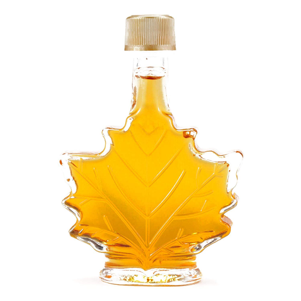 Amazon Com Mini Maple Leaf Syrup Bottle 1 7 Oz Each 1 Item Per Order Grocery Gourmet Food Syrup Bottle Maple Syrup Bottles Diy Hostess Gifts
