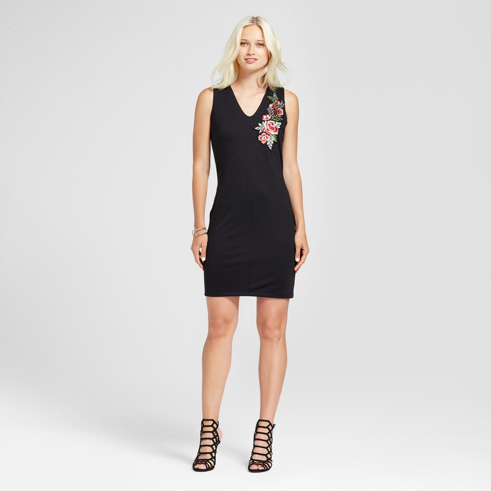 Target Expect More Pay Less Embroidered Dress Little Black Dress Dresses [ 1560 x 1560 Pixel ]