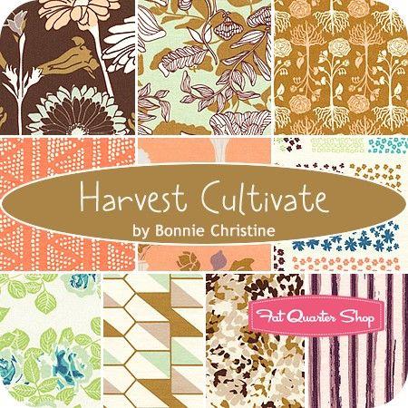Harvest Cultivate Fat Quarter Bundle<BR>Bonnie Christine for Art Gallery Fabrics