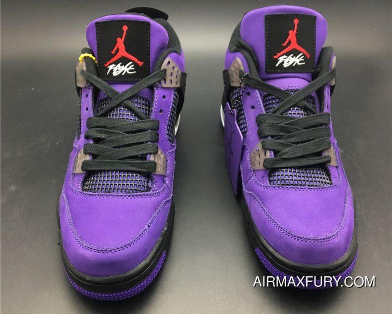 cheaper b3a76 e251c New Style Travis Scott X Air Jordan 4 Purple in 2019 | Air ...