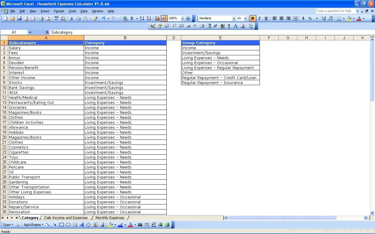Sample Excel Templates Expenses Template Excel Free